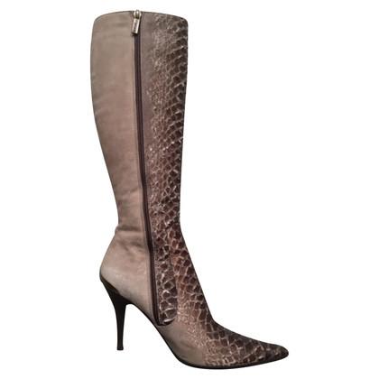 Just Cavalli snakeskin boots
