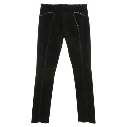 Other Designer Jean Claude Jitrois - suede pants in black