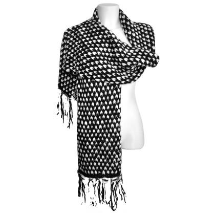 Karl Lagerfeld Stole in black / white