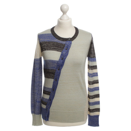 John Galliano Cardigan met decoratieve garens