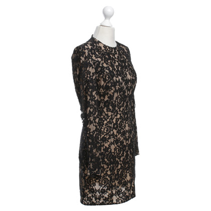 Balmain Lace dress in black / beige