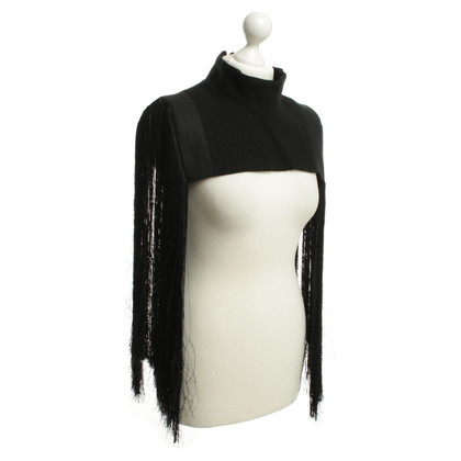Ann Demeulemeester Bolero with fringes