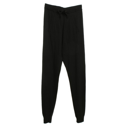 Stefanel Strickhose in black