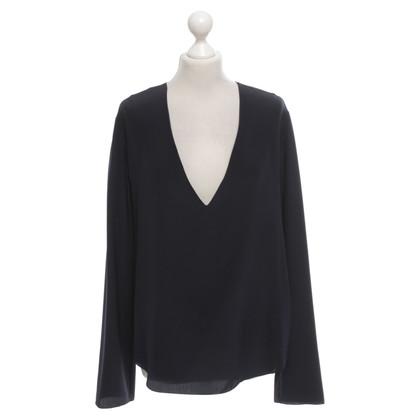 Chloé Silk blouse in dark blue