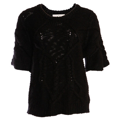 Iro Black knit top