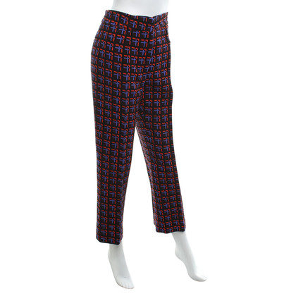 Marni trousers with weave pattern