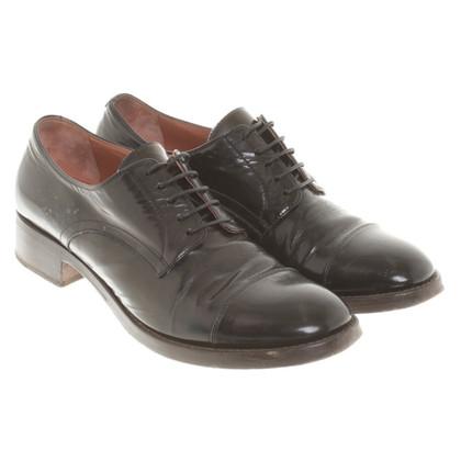 L'autre Chose Lace-up shoes in black