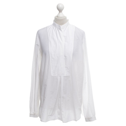 Gucci camicetta tunica in crema bianco