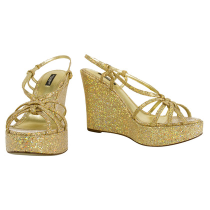 Dolce & Gabbana Gold colored wedges