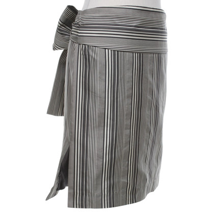 Chloé skirt with stripe pattern