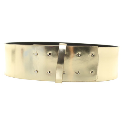 Diane von Furstenberg Gold color waist belt
