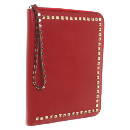 Valentino I-pad shell in red