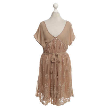 Twin-Set Simona Barbieri Playful dress with lace