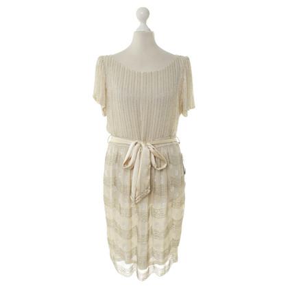 Antik Batik Kleid mit Pailletten