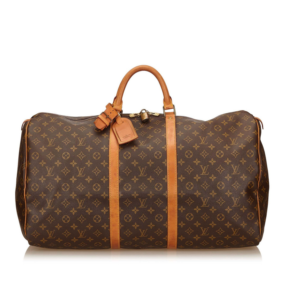louis vuitton keepall monogram canvas 60 second hand louis vuitton keepall monogram canvas. Black Bedroom Furniture Sets. Home Design Ideas