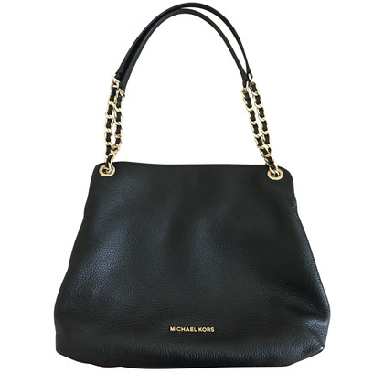 "Michael Kors ""Jet Set Chain Item Tote Black"""