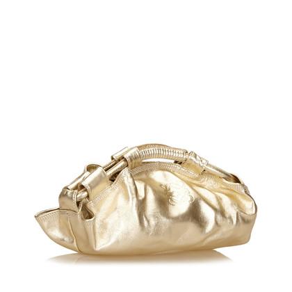 Loewe Handtasche im Metallic-Look
