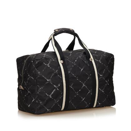 Chanel Old Travel Line Duffel Bag