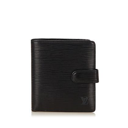 Louis Vuitton Portafoglio Compact Bifold Completi Epi Porte Billets