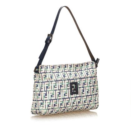 Fendi Nylon Zucca Shoulder Bag