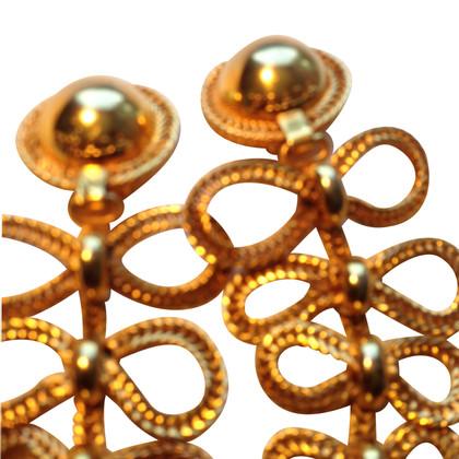 Prada Boucles d'oreilles en plaqué or