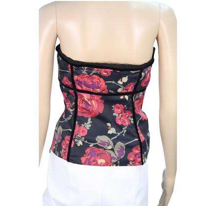 Karen Millen Floral corset
