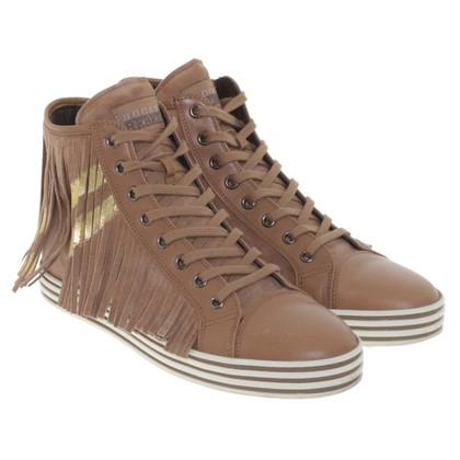 Hogan Suede Sneakers