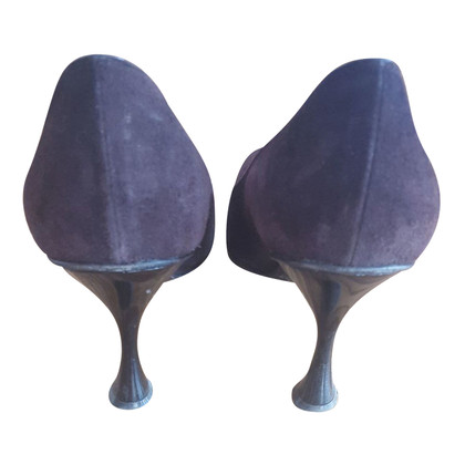 Luciano Padovan pumps made of suede