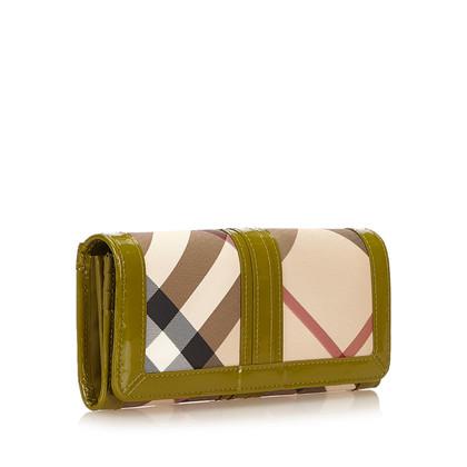 Burberry Nova Check Penrose Long Wallet