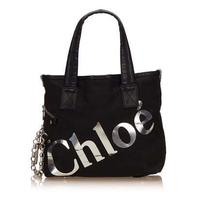 Chloé Canvas Tote Bag