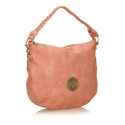 Mulberry Suede Leather Shoulder Bag