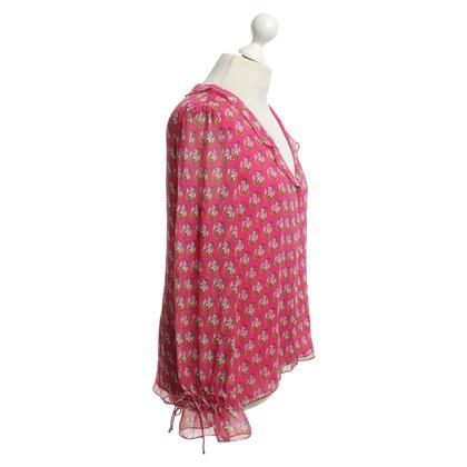 Diane von Furstenberg Oberteil mit floralem Muster