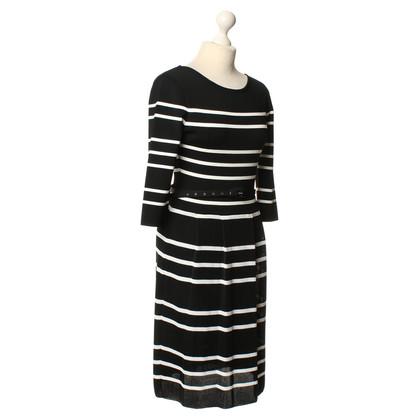 Christian Dior Stripe knit dress