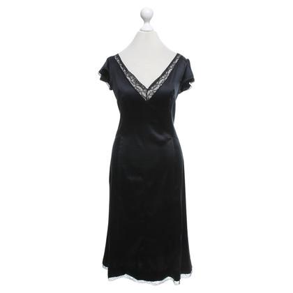D&G Black dress with lace trim