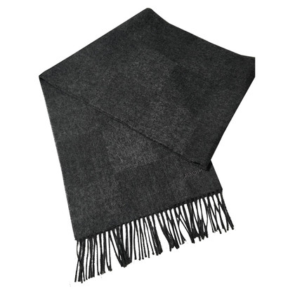 JOOP! Grey wool shawl