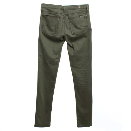 7 For All Mankind Jeans verde oliva