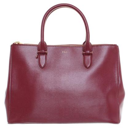 polo ralph lauren handtasche in bordeaux second hand polo ralph lauren handtasche in bordeaux. Black Bedroom Furniture Sets. Home Design Ideas