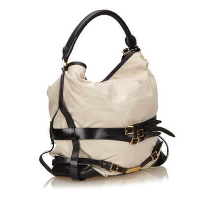 Burberry Gosford Bridle Cotton Handtas