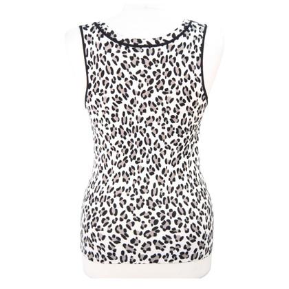 Karen Millen top with animal pattern