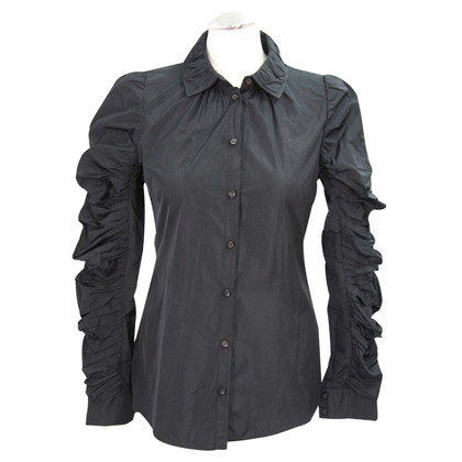 All Saints blouse zwart
