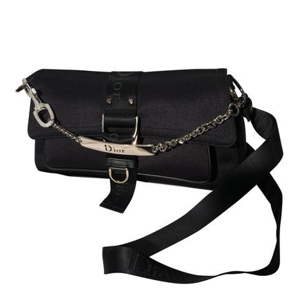 Christian Dior Schwarze Handtasche