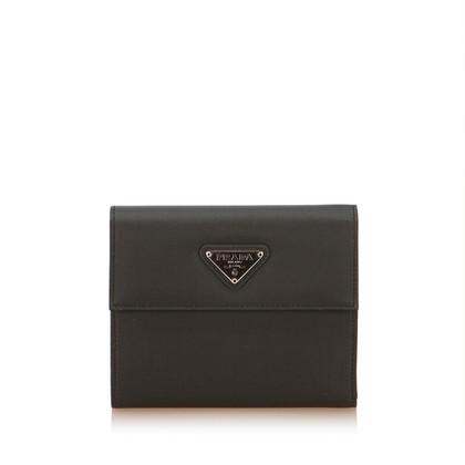 Prada Nylon Tri Fold Wallet