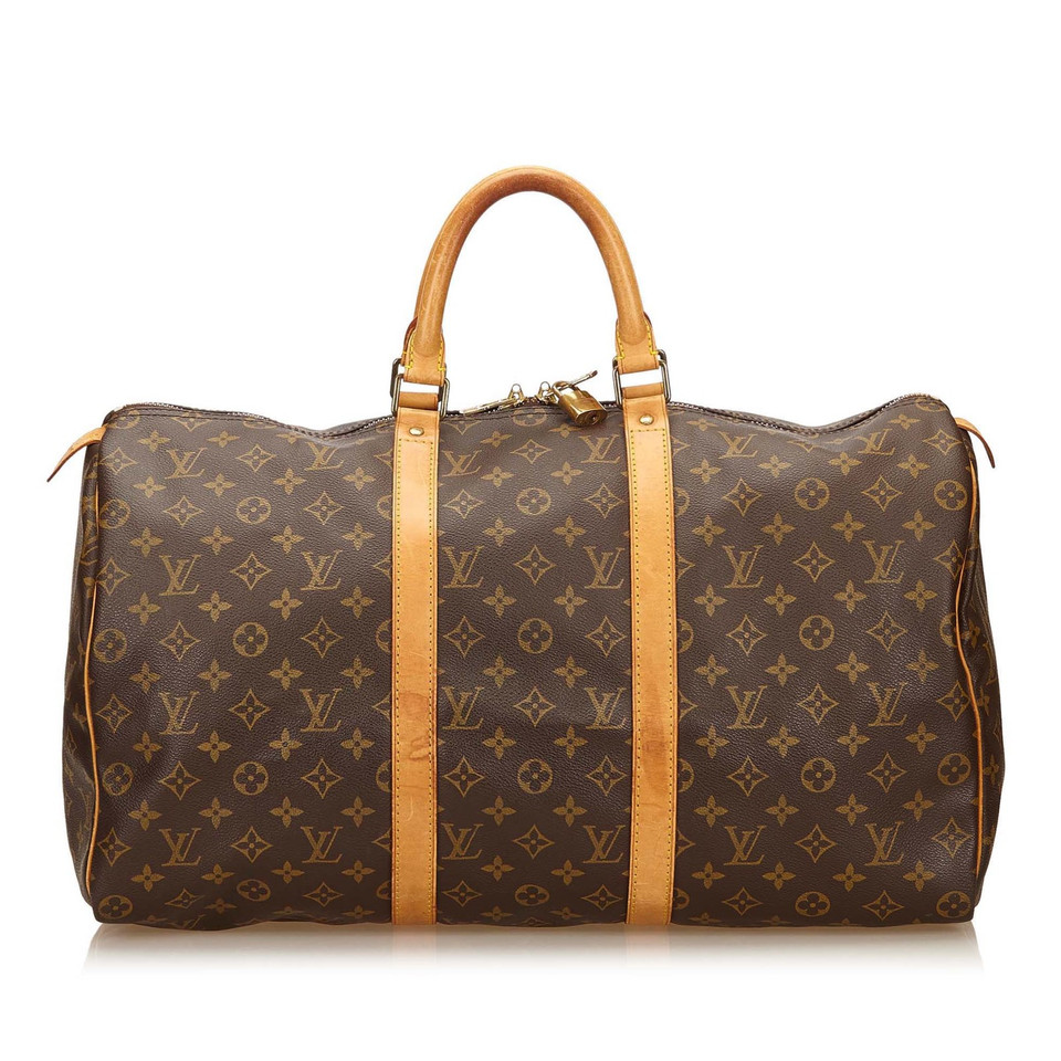 louis vuitton keepall 50 monogram canvas second hand louis vuitton keepall 50 monogram canvas. Black Bedroom Furniture Sets. Home Design Ideas