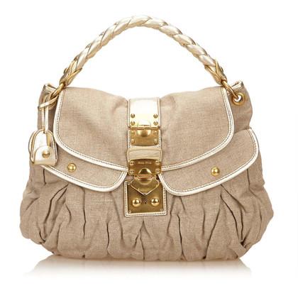 Miu Miu Coffer Shoulder Bag