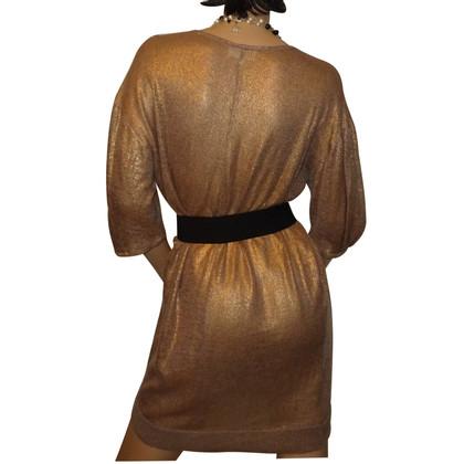 Vanessa Bruno abito luccichio dorato