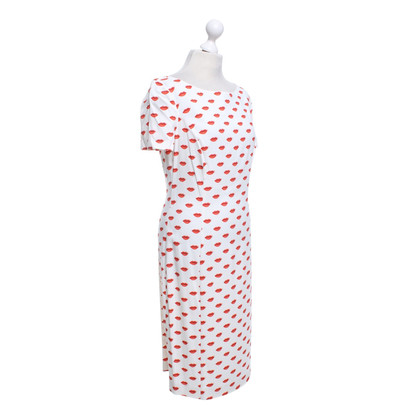 Prada Dress with lips motifs