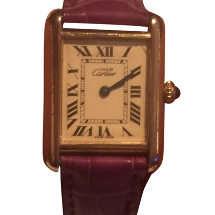 "Cartier Clock ""Must de Cartier"""