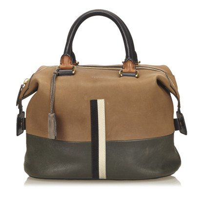 Céline Bicolor Leather Handbag