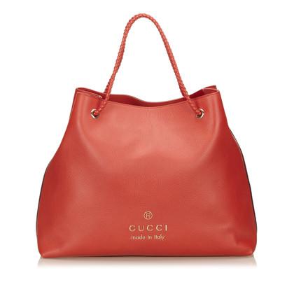 Gucci Leder Tote