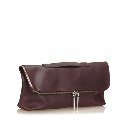 Phillip Lim Leather Foldover Clutch